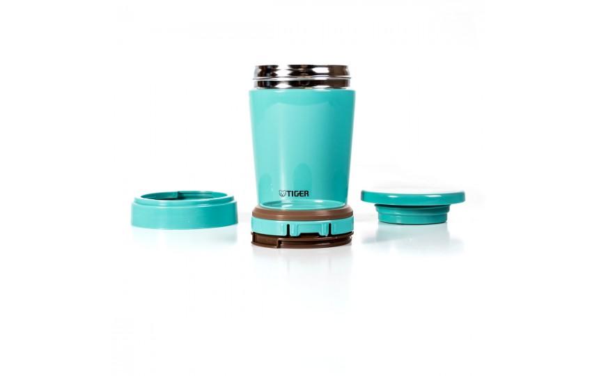 Термоконтейнер для первых или вторых блюд Tiger MCL-A038 Mint Blue, 0.38 л (цвет мятно-голубой)