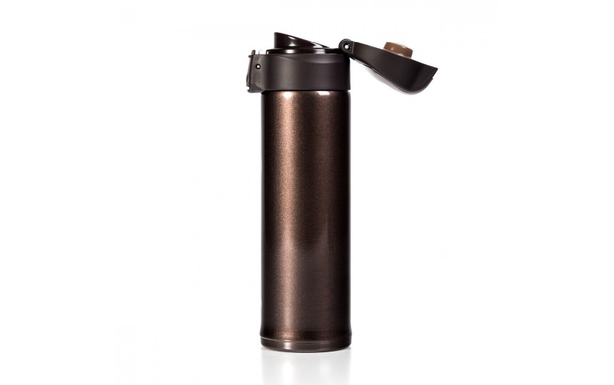 Термокружка Tiger MMP-S030 Metallic Brown, 0.3 л (цвет коричневый металлик)