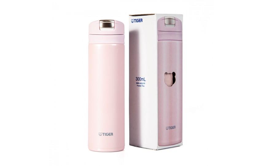 Термокружка Tiger MMX-A030 Powder Pink 0,3 л (цвет пудрово-розовый)