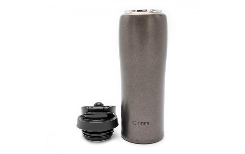 Термокружка Tiger MCB-H048 Gun Metallic 0,48 л (цвет темно-серый)