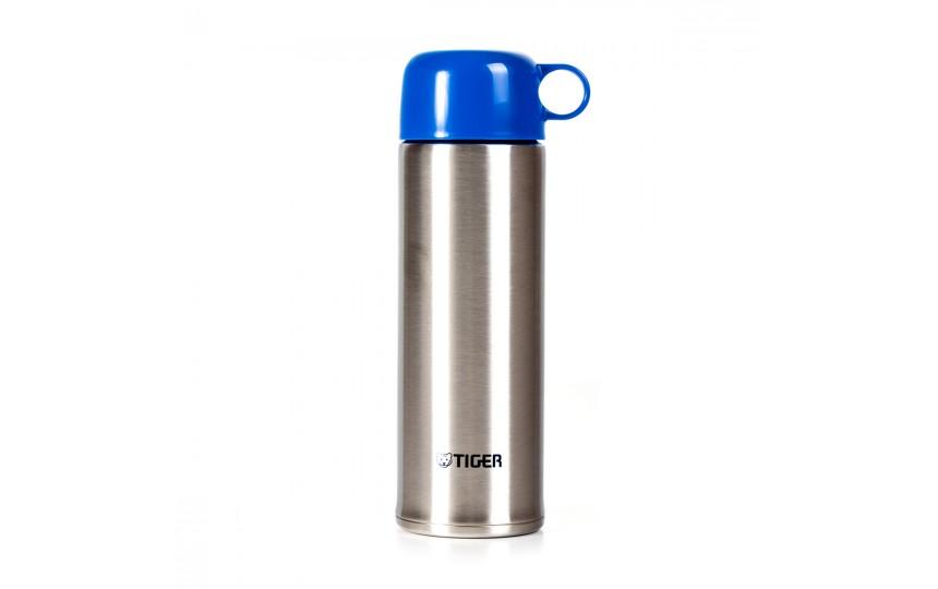 Термос для фитнеса Tiger MBO-E050 Blue, 0.5 л (цвет сине-голубой)