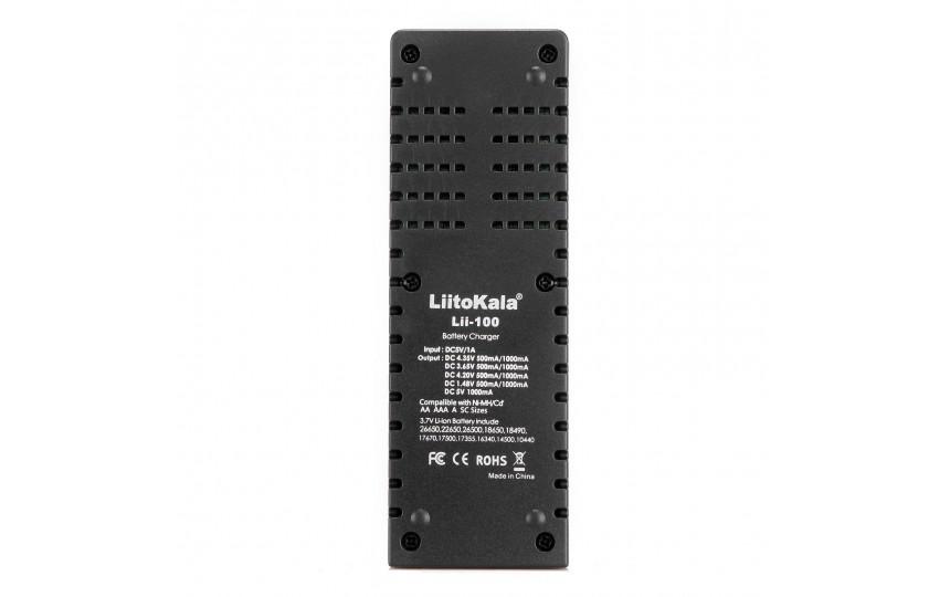 Зарядное устройство LiitoKala Lii-100 для Li-Ion/Li-FePO4/Li-HV/Ni-Mh/Ni-Cd
