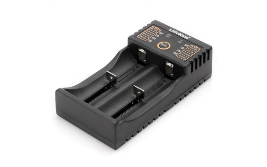 Комплект LiitoKala Lii-202 + 4xAA Ni-Mh аккумулятора PKCELL 2200мАч