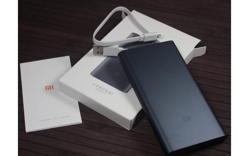 Внешний аккумулятор Xiaomi Mi Power Bank 2S 10000 mah 2 USB Black
