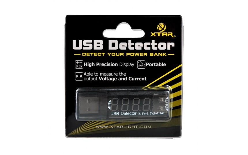Xtar VI01 USB detector (детектор тока/напряжения)