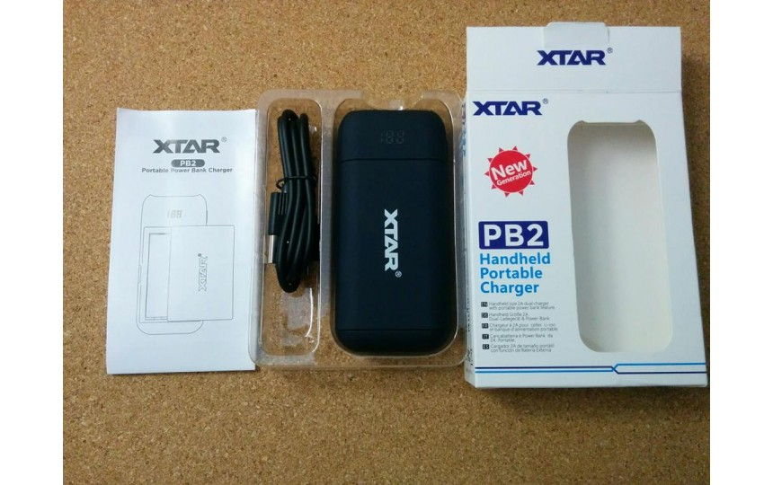 Повер-банк/зарядное устройство Xtar PB2